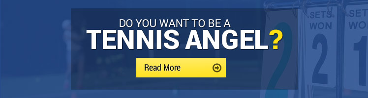 Become a tennis angel with Tennis Shropshire