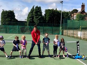 Tennis Roadshow giving Shropshire youngsters chance to pick up a racket