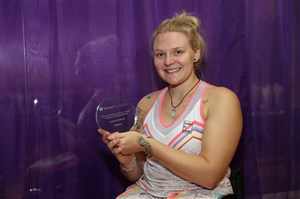 Ten-time Grand Slam champion Jordanne Whiley enjoys winning return at The Shrewsbury Club