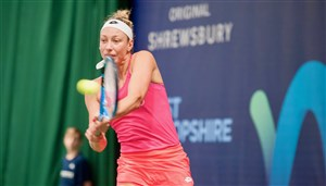 Top two seeds to meet in final of W60 Shrewsbury tournament - with Brit Freya Christie to feature in doubles final.