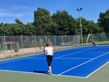 Shropshire clubs serving up free tennis activities around the county this weekend