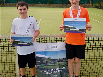 George stays on the road to Wimbledon after Bridgnorth victory
