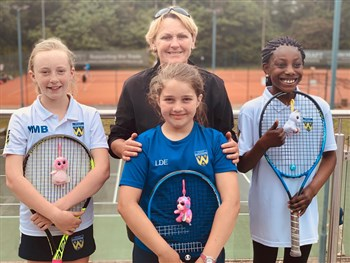 Shropshire youngsters enjoy experience of competing in LTA's 10U County Cup