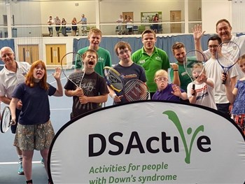 Open Court Downs Syndrome LD Tennis Festival