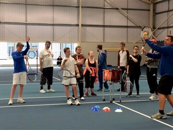 Tennis Shropshire's Learning Disability Tennis Festival proves successful