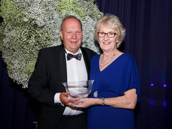 Shropshire's Cathie Sabin given top tennis award by LTA