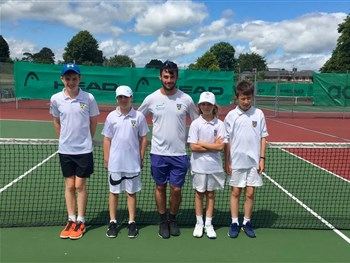 Captains praise efforts of Shropshire youngsters in LTA's 12U County Cup