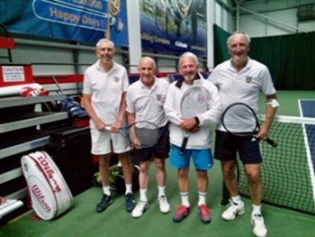 So close as Shropshire's over-65s men's team lose narrowly to Leicestershire
