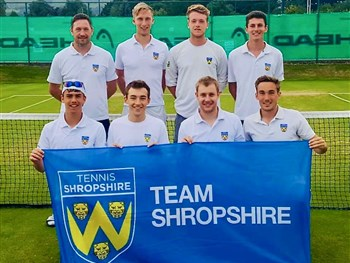 Captains impressed with Shropshire's efforts in the LTA's Summer County Cup