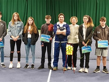 Presentation evening held for Tennis Shropshire's Cadets and Futures programmes