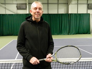 Shropshire tennis ace Rob's delight at being selected to represent Wales