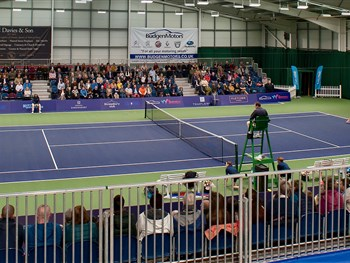 Shrewsbury's World Tour Tennis tournament postponed after ITF suspend all events until April 20