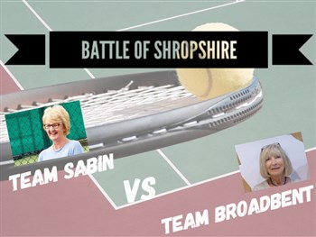 Tennis players of all ages set to take part in the Battle of Shropshire
