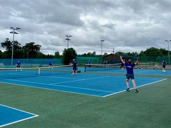 Team Sabin crowned Battle of Shropshire winners as new tennis event proves a big hit